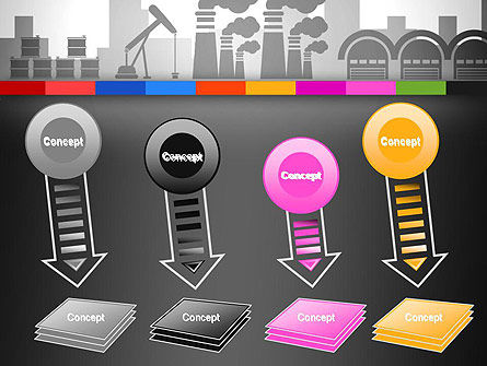 Industrial Silhouettes PowerPoint Template Slide 8