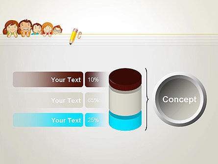 Back to School with Kids PowerPoint Template Slide 11