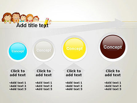 Back to School with Kids PowerPoint Template Slide 13