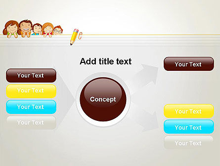 Back to School with Kids PowerPoint Template Slide 14