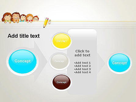 Back to School with Kids PowerPoint Template Slide 17