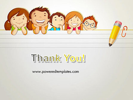 Back to School with Kids PowerPoint Template Slide 20