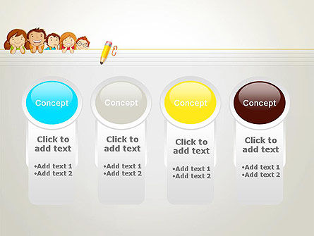 Back to School with Kids PowerPoint Template Slide 5