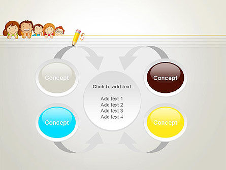 Back to School with Kids PowerPoint Template Slide 6