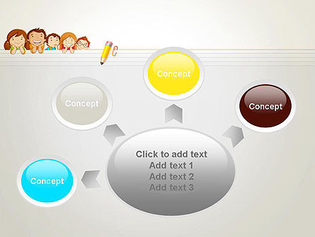 Back to School with Kids PowerPoint Template Slide 7