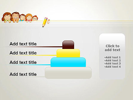 Back to School with Kids PowerPoint Template Slide 8