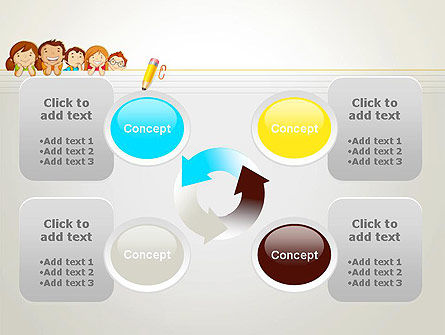 Back to School with Kids PowerPoint Template Slide 9