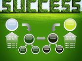 Green Grass Word Success PowerPoint Template#19