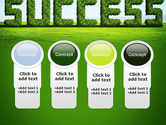 Green Grass Word Success PowerPoint Template#5