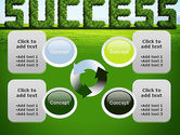 Green Grass Word Success PowerPoint Template#9
