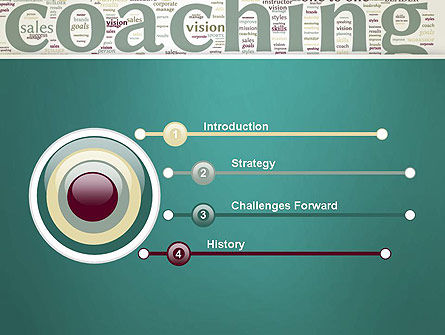 Business Communication Coach PowerPoint Template, Slide 3, 13201, Education & Training — PoweredTemplate.com
