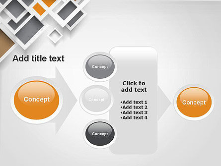 Overlapping Squares Abstract PowerPoint Template Slide 17