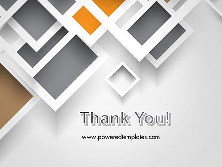Overlapping Squares Abstract PowerPoint Template Slide 20