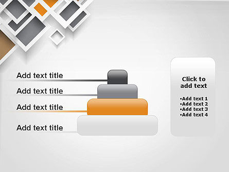 Overlapping Squares Abstract PowerPoint Template Slide 8