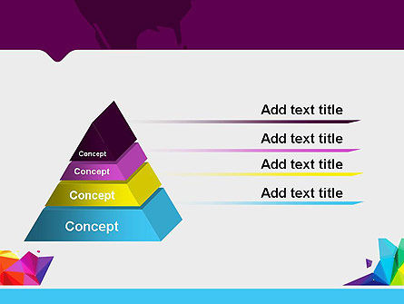 Colorful Polygon Abstract PowerPoint Template Slide 12