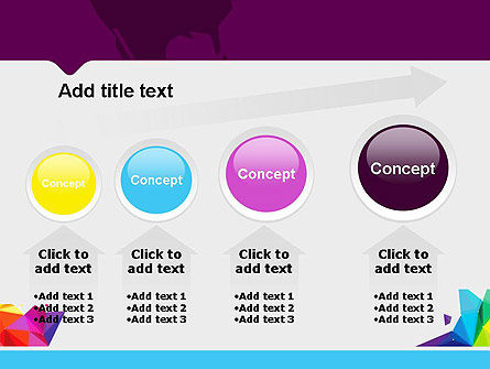 Colorful Polygon Abstract PowerPoint Template Slide 13