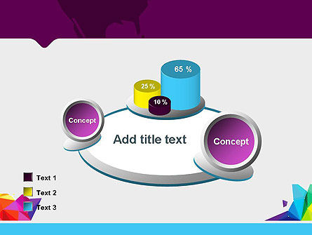 Colorful Polygon Abstract PowerPoint Template Slide 16