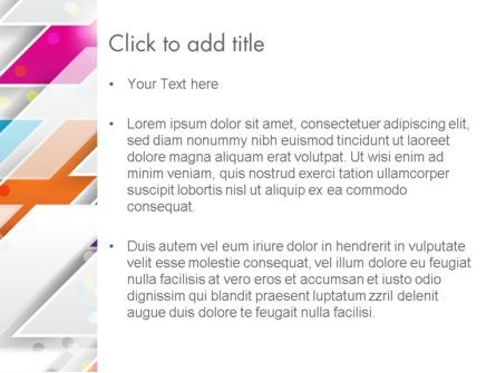 Overlapping Colorful Squares Abstract PowerPoint Template, Slide 3, 13205, Abstract/Textures — PoweredTemplate.com