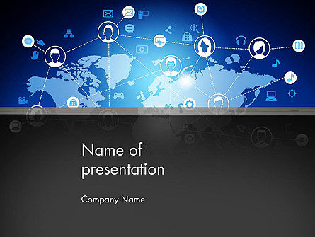 Internet Connections PowerPoint Template