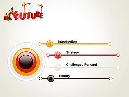 Making Future PowerPoint Template, Slide 3, 13208, Education & Training — PoweredTemplate.com