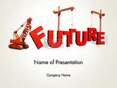 Education & Training: Making Future PowerPoint Template #13208