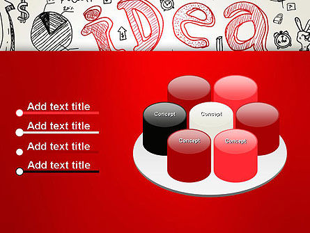 Idea Doodles PowerPoint Template Slide 12