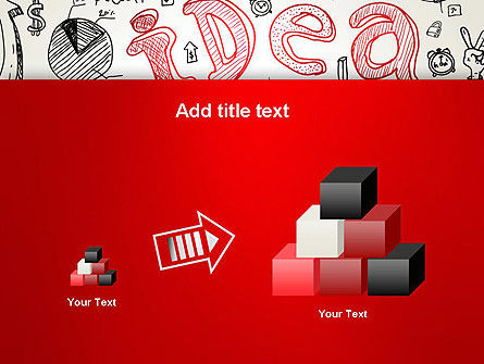Idea Doodles PowerPoint Template Slide 13