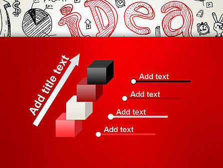 Idea Doodles PowerPoint Template Slide 14