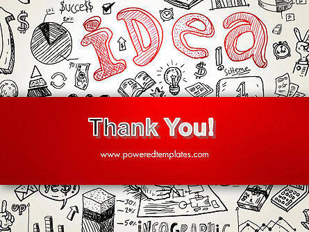 Idea Doodles PowerPoint Template Slide 20