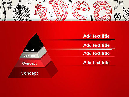 Idea Doodles PowerPoint Template, Slide 4, 13210, Business Concepts — PoweredTemplate.com