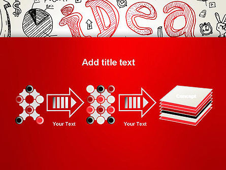 Idea Doodles PowerPoint Template Slide 9