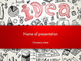 Idea Doodles PowerPoint Template#1