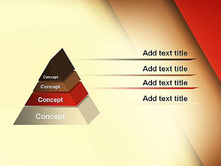 Tilted Overlapping Layers PowerPoint Template Slide 12