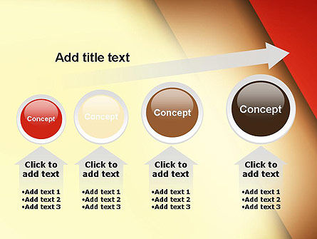 Tilted Overlapping Layers PowerPoint Template Slide 13