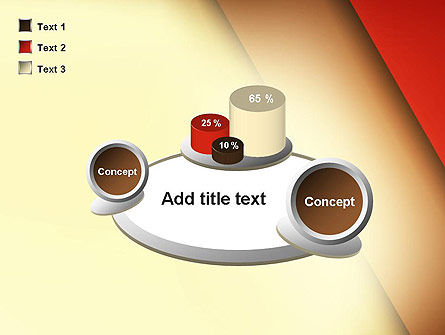 Tilted Overlapping Layers PowerPoint Template Slide 16
