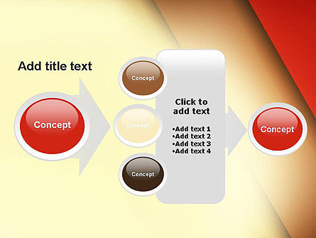 Tilted Overlapping Layers PowerPoint Template Slide 17