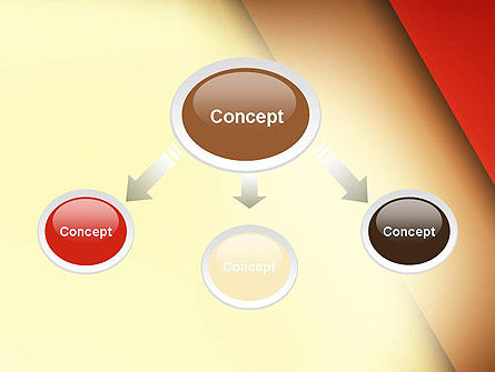 Tilted Overlapping Layers PowerPoint Template Slide 4
