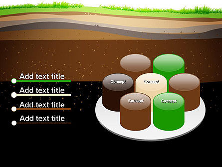 Soil Cut PowerPoint Template Slide 12