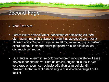 Soil Cut PowerPoint Template Slide 2
