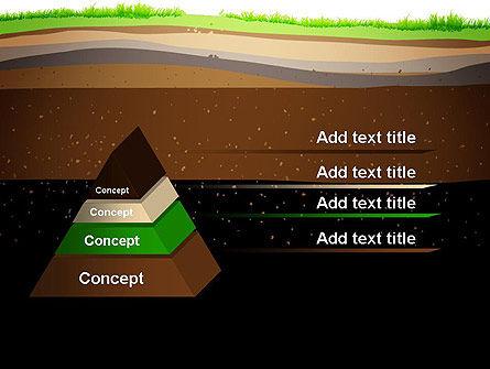 Soil Cut PowerPoint Template, Slide 4, 13213, Education & Training — PoweredTemplate.com