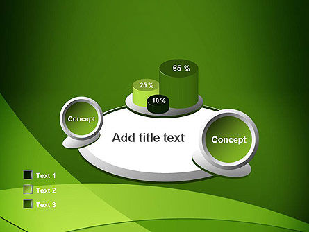 Green Transparent Waves PowerPoint Template Slide 16