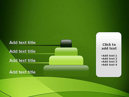Green Transparent Waves PowerPoint Template Slide 8
