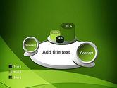 Green Transparent Waves PowerPoint Template#16