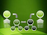 Green Transparent Waves PowerPoint Template#19