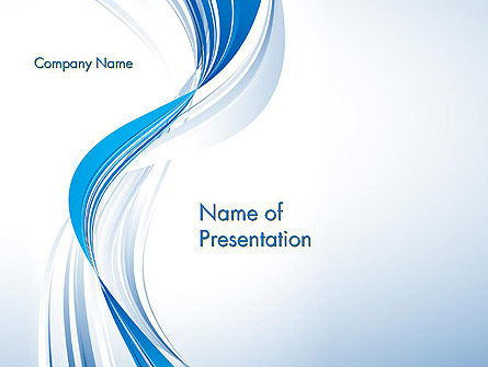 Abstract Streamy PowerPoint Template