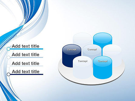Abstract Streamy PowerPoint Template Slide 12