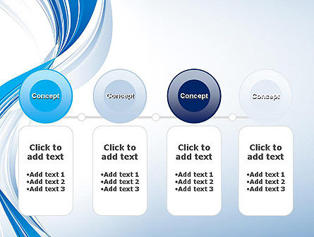 Abstract Streamy PowerPoint Template Slide 5