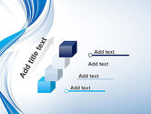 Abstract Streamy PowerPoint Template#14