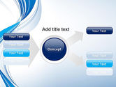 Abstract Streamy PowerPoint Template#15