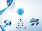 Abstract Streamy PowerPoint Template#19